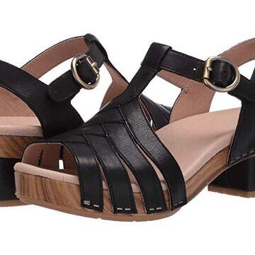 Dansko Mara (Black Burnished Calf) Women's Shoes