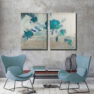 Ready2HangArt 'Painted Petals IVB' 2-Piece Canvas Wall Art Set