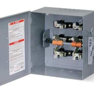 Square D By Schneider Electric 82344 200 Amps AC 480VAC Double Throw Safety