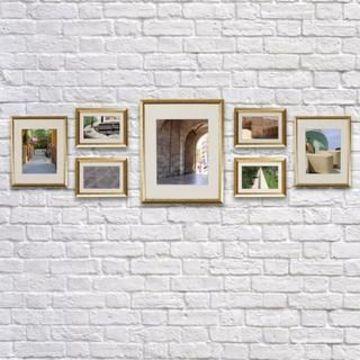 Gold 7-Piece Frame Set By Studio Decor