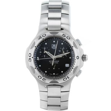 Tag Heuer Silver Steel Watches