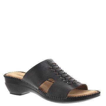 Auditions Rhonda Women's Black Sandal 8.5 N