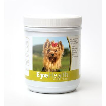 Healthy Breeds 840235145059 Yorkshire Terrier Eye Health Soft Chews - 75 Count