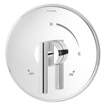 Symmons 3500-CYL-TRM Dia Pressure Balanced Valve Trim with Lever Handle - Less