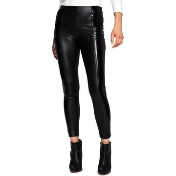 1.State Womens Stretch Patent Leather Pants