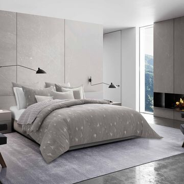 Vera Wang Silver Birch Grey Comforter Sham Set