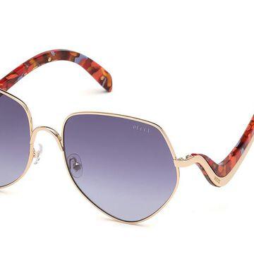 Emilio Pucci EP0119 28G Womenas Sunglasses Gold Size 59