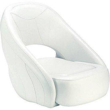 Attwood Avenir Sport Upholstered Boat Seat with Flip-Up Bolster