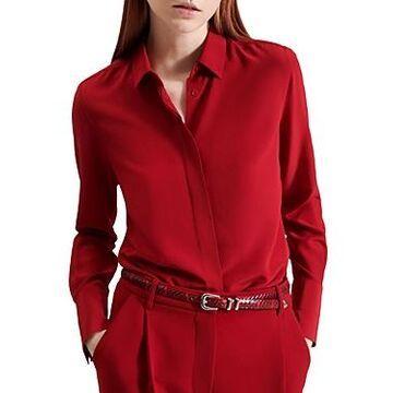 Barbara Bui Silk Crepe de Chine Shirt