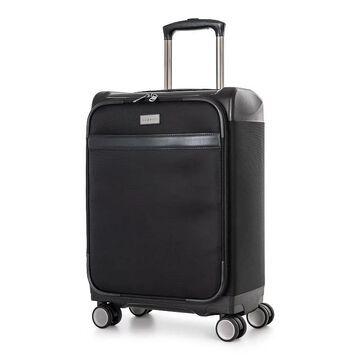 Bugatti Washington Hybrid Carry-On Luggage, Black, 24 INCH
