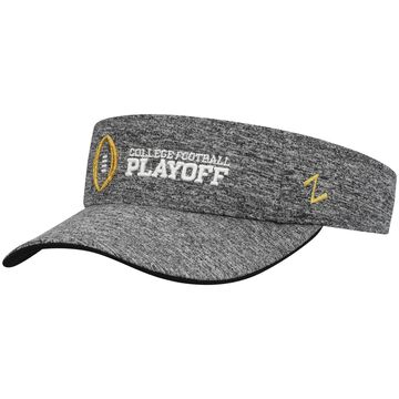 College Football Playoff Zephyr Adjustable Visor Heathered Gray