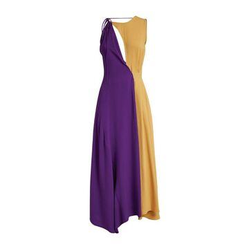 Victoria Beckham Two-Tone Midi Dress