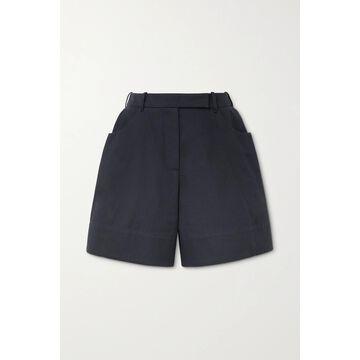 SIMONE ROCHA - Cotton-twill Shorts - Blue