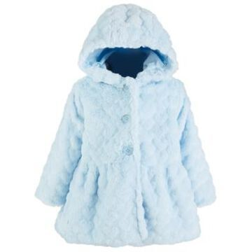 First Impressions Toddler Girls Heart Plush Coat, Created for Macy's