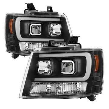 Spyder Auto 5082565 Projector Headlights Fits 07-14 Suburban 1500/2500 /Tahoe