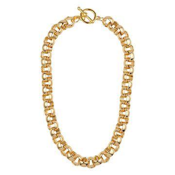 round-link chain necklace