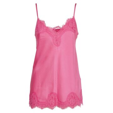 Pink Memories Pink Top With Lace