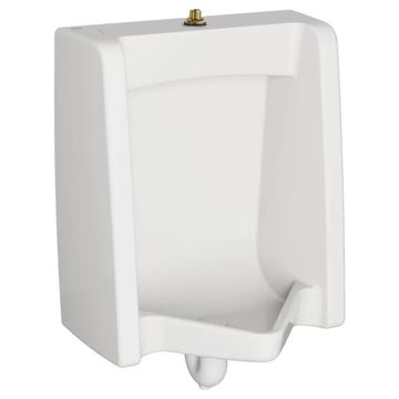 American Standard 6590.001 Washbrook Wall Hung FloWise Universal Urinal with 3/4 White Fixture Urinal Wall Mount