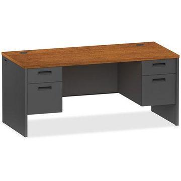 Lorell Pedestal Desk