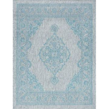 Bliss Rugs Demi Traditional Indoor/Outdoor Area Rug