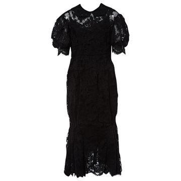 Simone Rocha \N Black Polyester Dresses