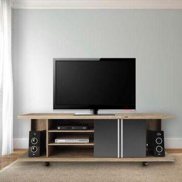 Manhattan Comfort Carnegie TV Stand in Onyx