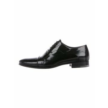 Leather Oxfords Black