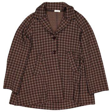 Siyu Brown Wool Coats