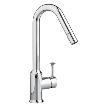 American Standard 4332.31 Pekoe Pullout Kitchen Faucet, Polished Chrom