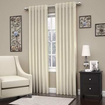 Eclipse Dutton Thermaweave Blackout Window Curtain Panel