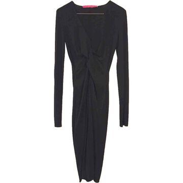 Emanuel Ungaro \N Black Silk Dresses