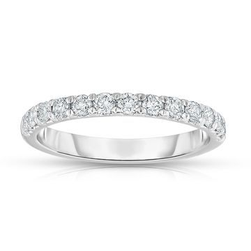 Noray Designs 14K White Gold 1/2ct TDW Diamond Wedding Band