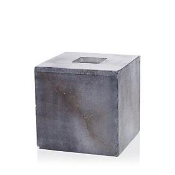 Kassatex Dyed Alabaster Tissue Box