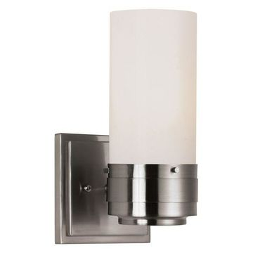 Trans Globe 2912 BN Solstice Brushed Nickel Wall Sconce