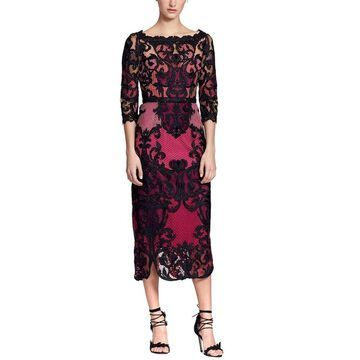 Marchesa Notte Body Con Dress