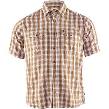 Fjallraven Men's Abisko Cool SS Shirt - XXL - Dark Sand