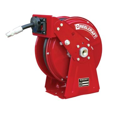 DP5835 OMP 0.5 in. x 35 ft. 3000 PSI Oil with Hose Reel, Red