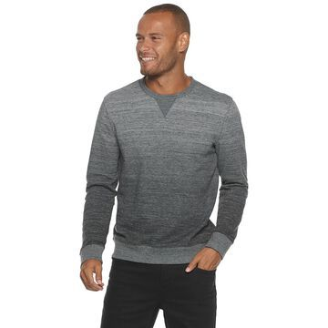 Men's Marc Anthony Slim-Fit Gradient French Terry Crewneck Sweater