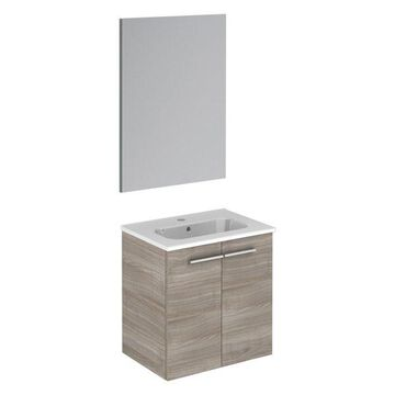Start Sandy Gray Complete Vanity Unit With Mirror