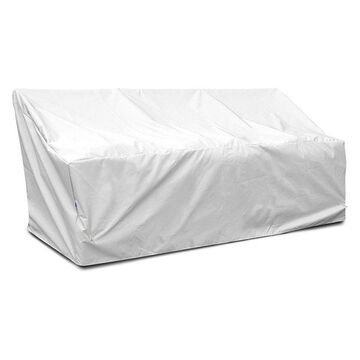 Deep Large Sofa Cover, White