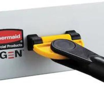 Rubbermaid HYGEN Quick-Connect Wall/Stair Frame Mop Head, Tailband (FGQ55000YL00) | Quill