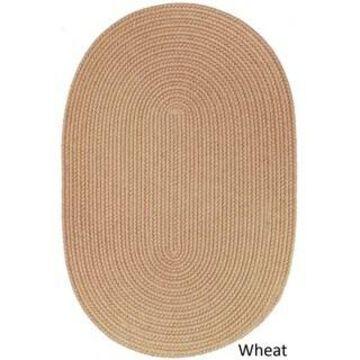 Rhody Rug Woolux Braided Wool Flatweave Oval Rug