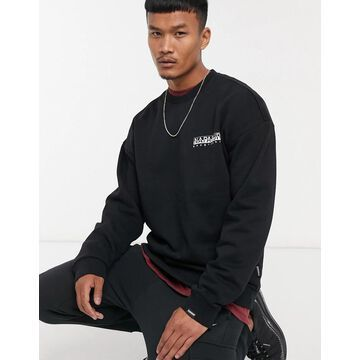 Napapijri Yoik sweatshirt in black
