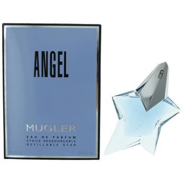 Angel by Thierry Mugler, .8 oz EDP Spray Refillable for Women