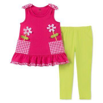 Baby Girls 2-Pc. Tunic & Leggings Set