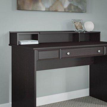 Bush Furniture Cabot Desktop Organizer in Espresso Oak