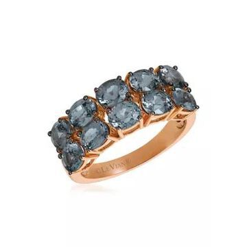 Le Vian Women 3.5 Ct. T.W. Gray Spinel Ring In 14K Rose Gold - -