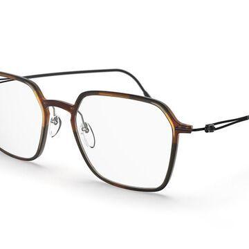Silhouette Lite Spirit Full Rim 2927 6040 Men's Glasses Tortoiseshell Size 49 - Free Lenses - HSA/FSA Insurance - Blue Light Block Available