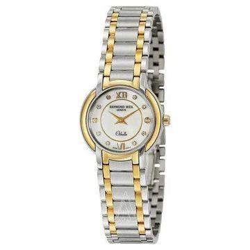Raymond Weil Women's 2320-STG-00985 'Othello' Diamond Two-Tone Stainless Steel Watch
