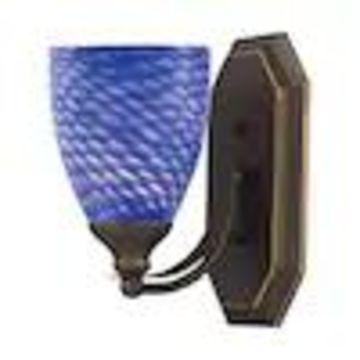 Westmore Lighting Homestead 1-Light Bronze Traditional Vanity Light
